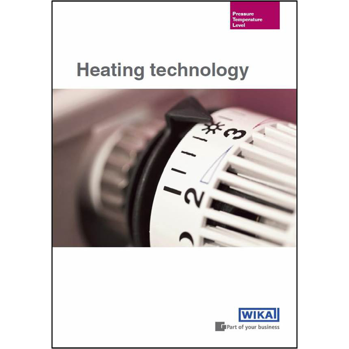 Measurement solutions for heating technology