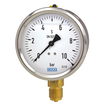 Liquid filled gauge, model 213.53