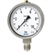 Bourdon tube pressure gauge, stainless steel